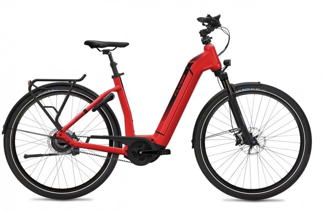FLYER E-Bike Gotour6 783 Comfort ClassicRedGloss