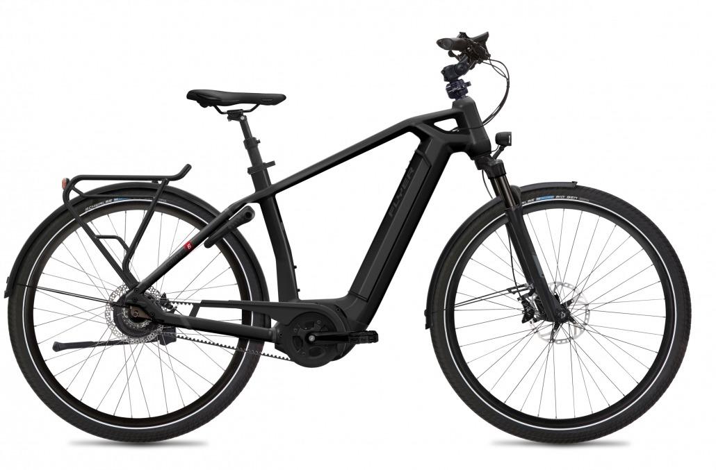 FLYER E-Bikes Gotour6 783 Gents BlackMatt