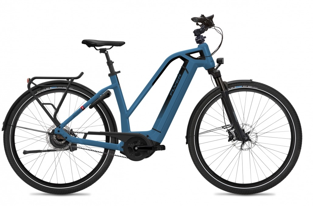 FLYER E-Bikes Gotour6 783 Mixed JeansBlueGloss