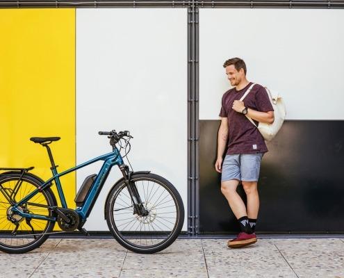 FLYER E-Bike Urban Upstreet4 Zuerich