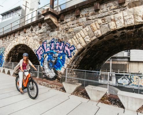 FLYER E-Bike Urban Upstreet5 Zuerich
