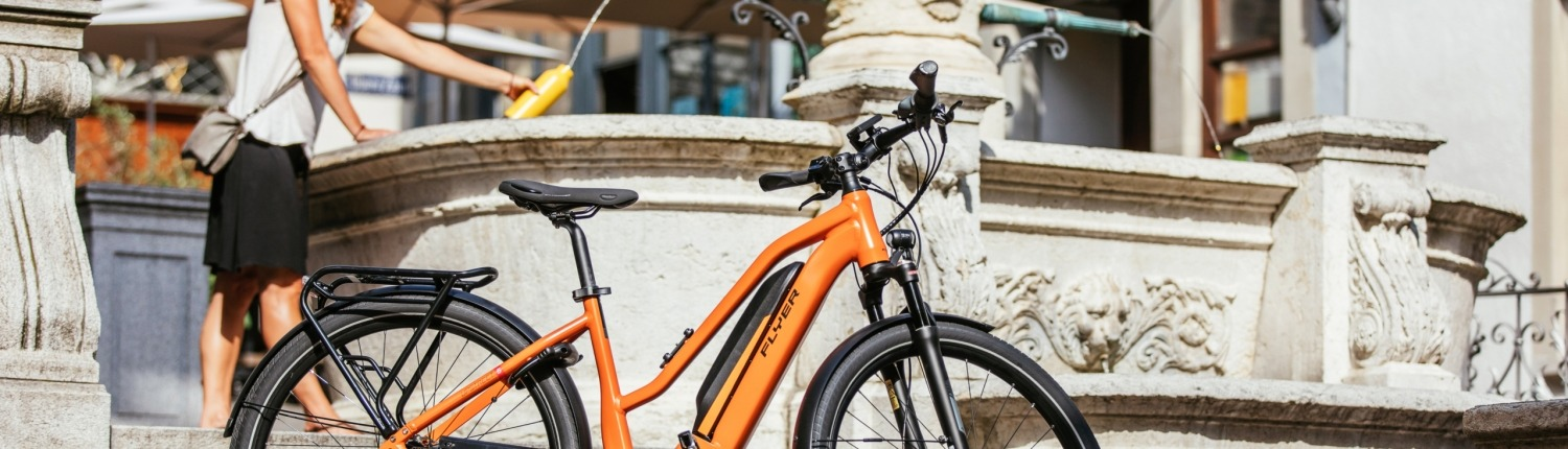 FLYER E-Bike Urban Upstreet5 Zuerich