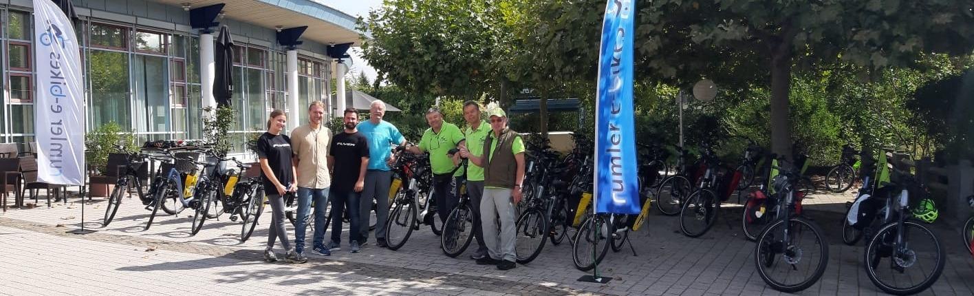 Hans Rumler und Team Pfalz Firmenevent