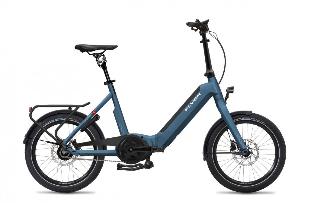 FLYER E-Bikes Upstreet2 500 Comfort JeansBlueGloss Chain