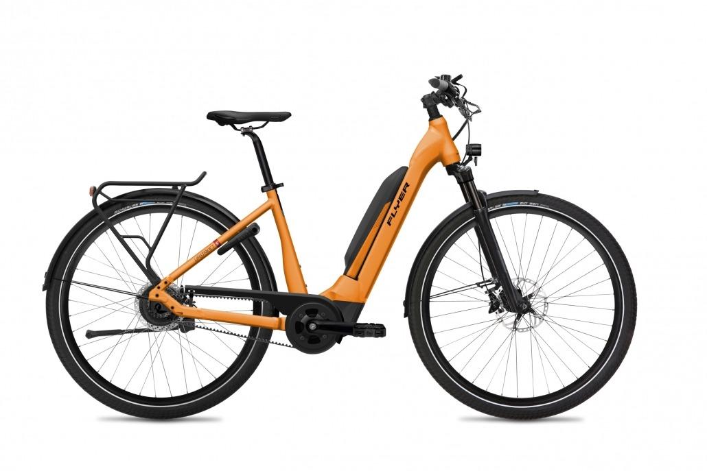 FLYER E-Bike Upstreet5 783 Comfort TangerineOrangeMatt